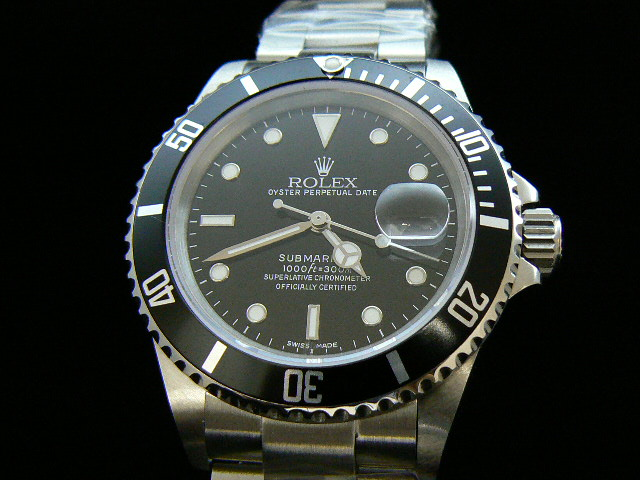 Rolex SUBMARINER BLACK DIAL- Ø 40mm.