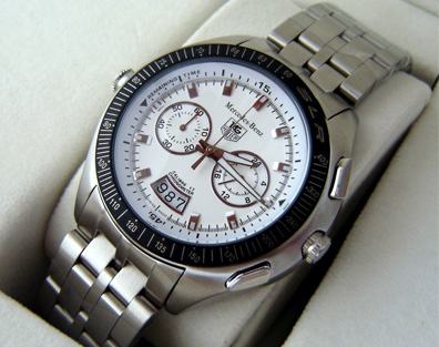 SLK CHRONOGRAPH QUARTZ WHITE (T46)