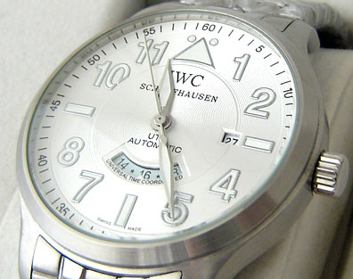 IWC PILOTS AUTOMATIC STEEL