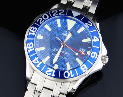 SEAMASTER 300M GMT BLUE (NEW) 41mm