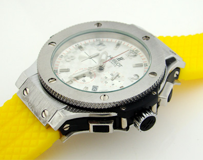 HUBLOT CHRONOGRAPH QUARTZ 42mm. (H7)