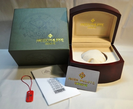 PATEK PHILIPPE BOX & PAPERS