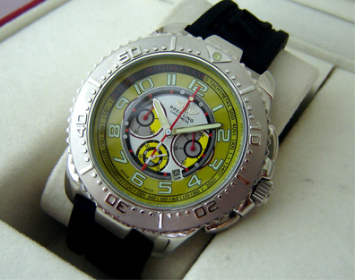 BREITLING NAVITIMER CHRONOGRAPH YELLOW -Ø48mm.