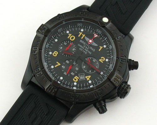 BREITLING 1884 CHRONOMETRE BLACK - Ø 47mm.