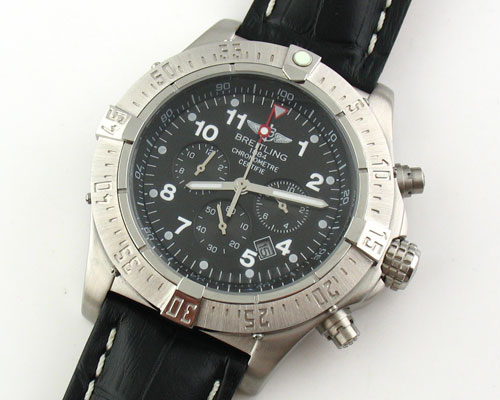 BREITLING 1884 CHRONOMETRE STEEL - Ø 47mm.