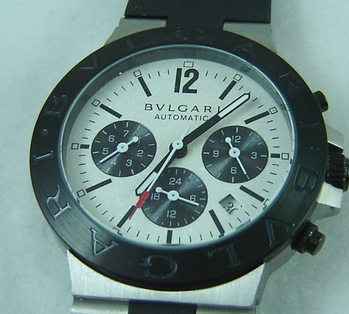 BULGARI DIAGONO ALUMINIUM 3 SPHERE- Ø 38mm.