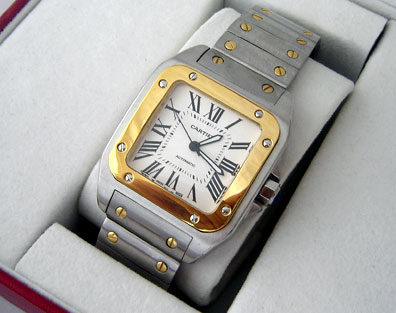 CARTIER SANTOS 100 AUTOMATIC 39mm (C12)