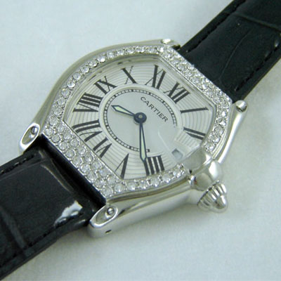 CARTIER DIAMONDS QUARTZ 28mm (C6)