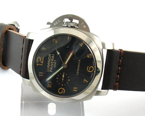 PANERAI LUMINOR  GMT CERAMICA Ø44mm.