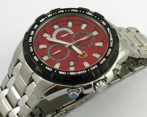 FERRARI CHRONOGRAPH RED DIAL -Ø46mm.