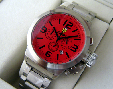 FERRARI QUARTZ CHRONOGRAPH 45mm (F19)