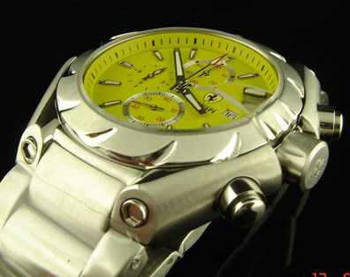 FERRARI QUARTZ CHRONOGRAPH 46mm (F26)