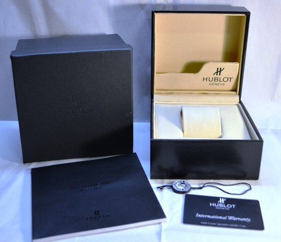 HUBLOT BOX & PAPERS