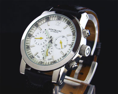 MONTBLANC WHITE DIAL AUTOMATIC - 42mm