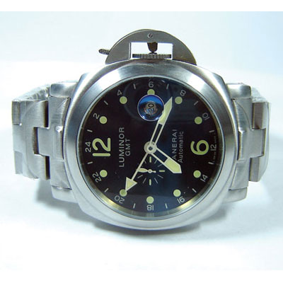 PANERAI LUMINOR  GMT STEEL
