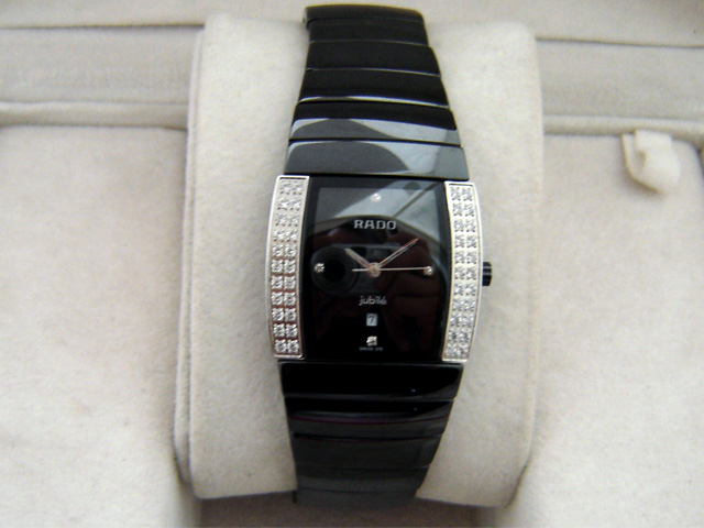 RADO BLACK CERAMICS DIAMONDS