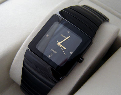 RADO HIGH TECH BLACK CERAMICS ONE TONE