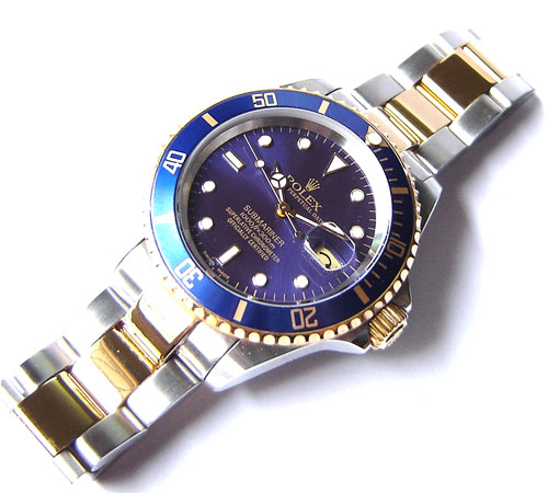SUBMARINER STEEL-GOLD BLUE DIAL