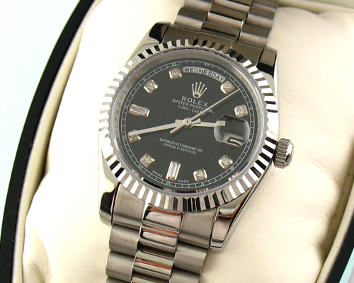 ROLEX OYSTER PERPETUAL DAY-DATE -Ø36mm.