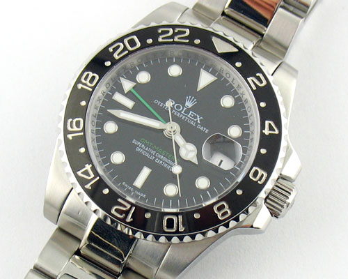 REPLICA ROLEX GMT MASTER II GREEN NEEDLE GMT