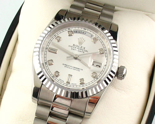 ROLEX OYSTER PERPETUAL DAY-DATE F822 -Ø36mm.
