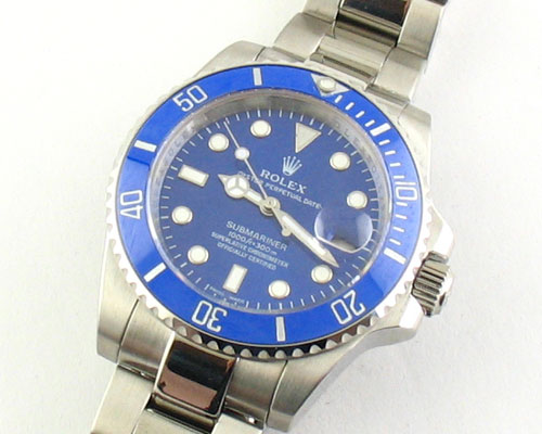 Rolex SUBMARINER BLUE DIAL- Ø 40mm.