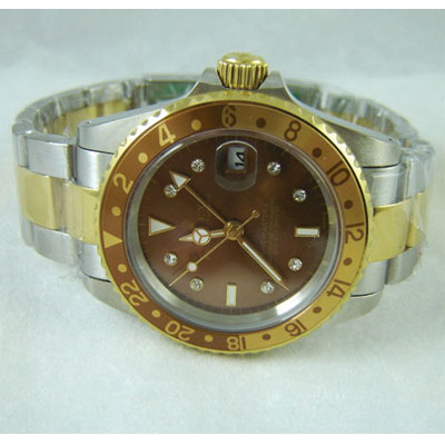 REPLICA ROLEX GMT MASTER II GOLD