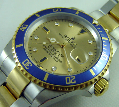 SUBMARINER STEEL-GOLD DIAL