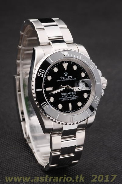 Replica Rolex SUBMARINER DATE BLACK DIAL 116610LN - Ø40mm.