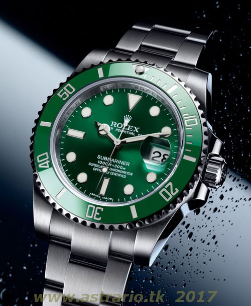 REPLICA ROLEX SUBMARINER DATE GREEN DIAL REF. 11610LV