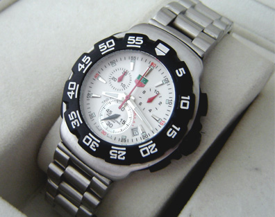 FORMULA WHITE CHRONOGRAPH QUARTZ 40mm (T50)