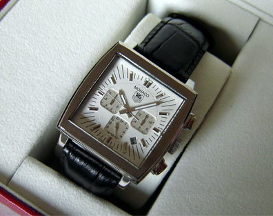 TAG HEUER MONACO QUARTZ 39mm. (T35)
