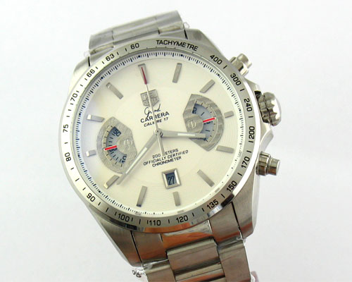 GRAND CARRERA CALIBRE 17 WHITE DIAL Ø44mm.