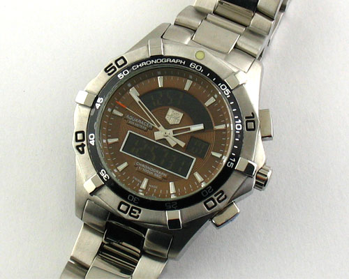 AQUARACER BROWN DIAL  Ø44mm