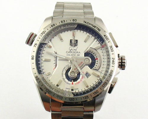 GRAND CARRERA CALIBRE 36.WHITE  Ø44mm