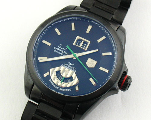 TAG HEUER GRAN CARRERA GMT BLACK-Ø 43mm.