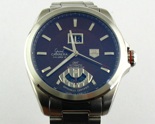 TAG HEUER GRAN CARRERA GMT -Ø 44mm.