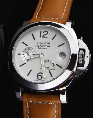 PANERAI LUMINOR  POWER RESERVE WHITE DIAL P5