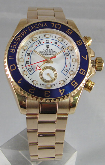 ROLEX YACHTMASTER II GOLD