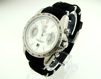 CARRERA CALIBRE 17 QUARTZ CHRONOGRAPH WHITE DIAL (T63)